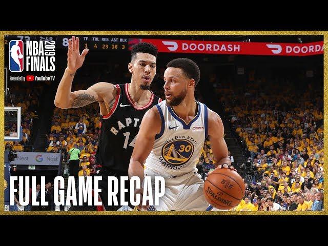 RAPTORS vs WARRIORS | Toronto Knocks Down 17 Three-Pointers | NBA Finals Game 3