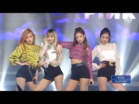 BLACKPINK​ - '휘파람(WHISTLE)' 0821 SBS Inkigayo