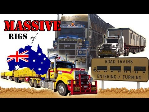 DIESEL DUST & DIRTY WATER! Massive Road Trains Extreme Australian truck oversize COMPILATION