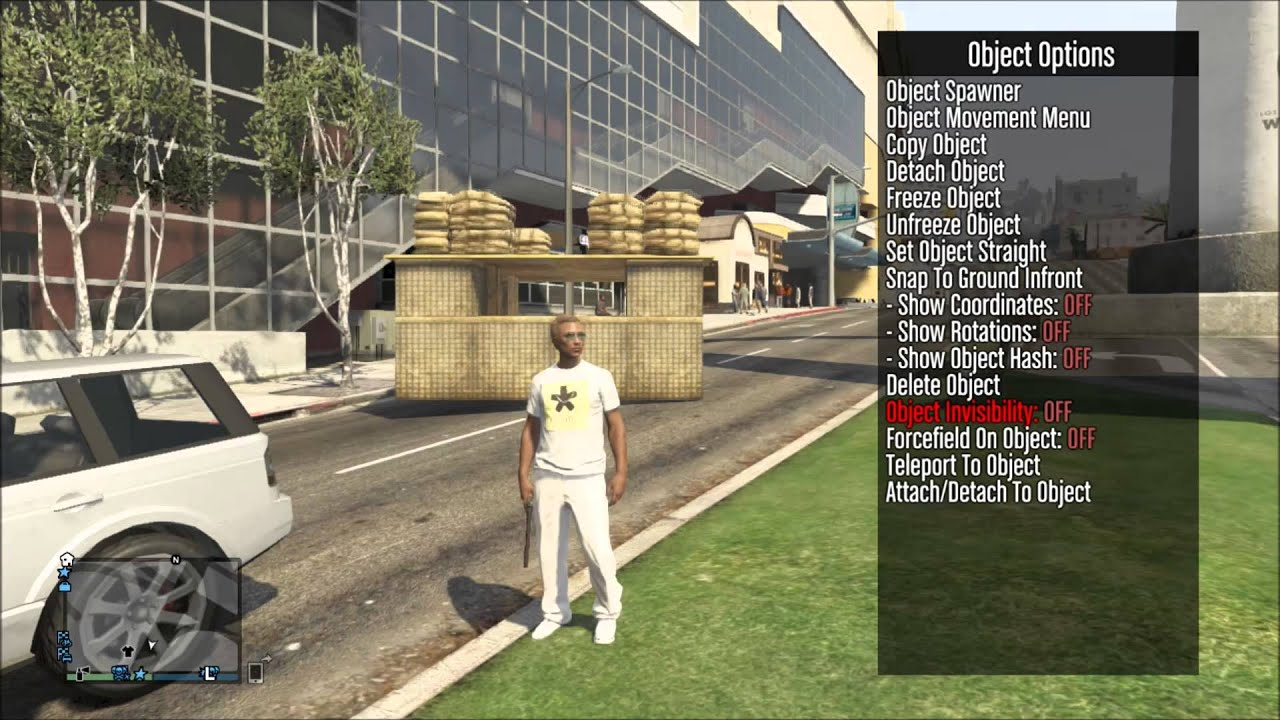 the gta purge V2 8 mod menu showcase by BangTidy Modz