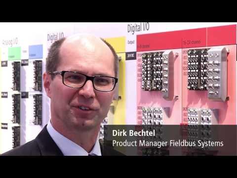 EN   Hannover Messe 2014, Day 2: Beckhoff Trade Show TV
