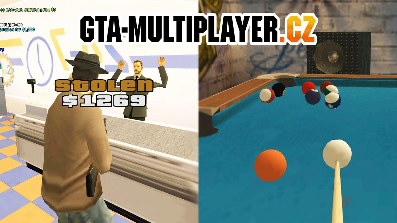 GTA San Andreas Multiplayer | GTA-MP cz Server Trailer
