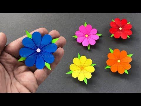 Blumen Basteln Mit Papier 🌸 Deko & Geschenke Selber Machen - Bastelideen Mit Origami Papier