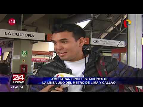 Ampliarán 5 estaciones del Metro de Lima y Callao para mejorar el servicio de la Línea 1