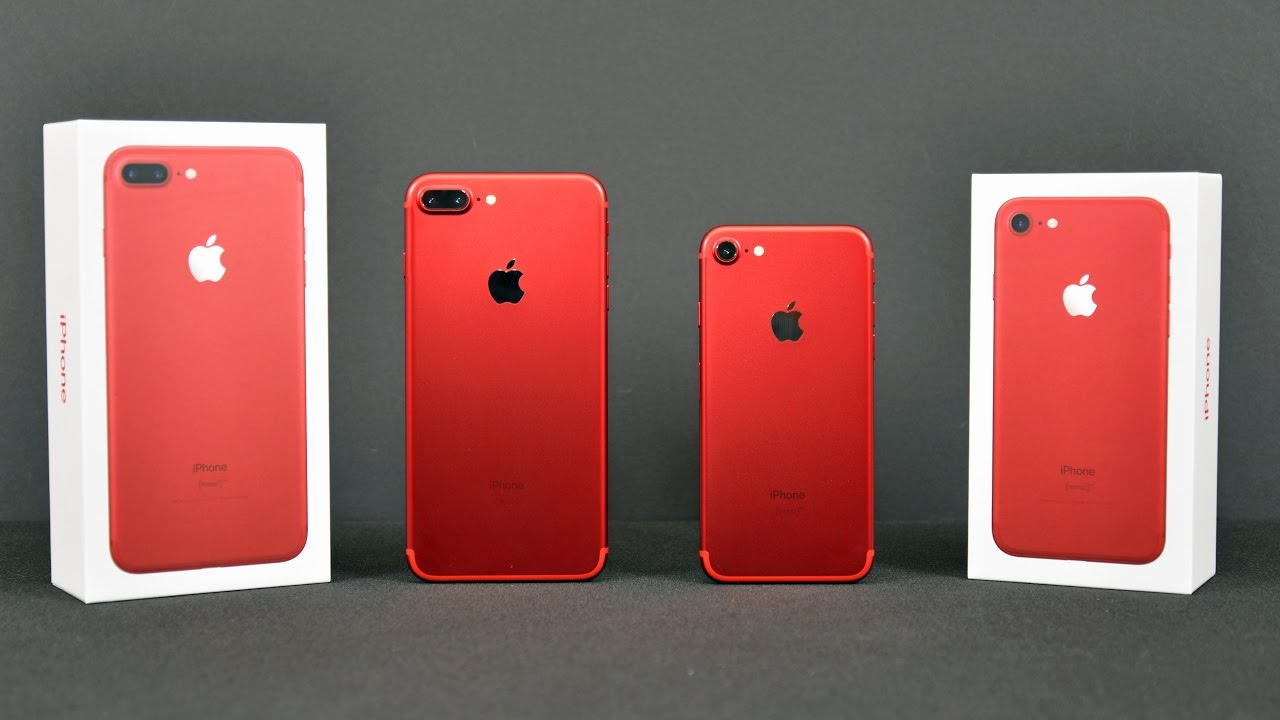 Iphone  Plus Red