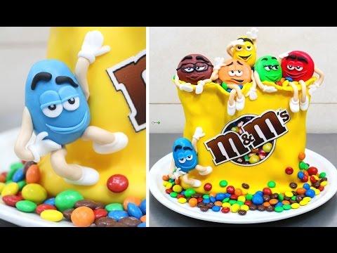 M M S Funny Birthday Cake Amazing Cake Idea By Cakes Stepbystep Youtube