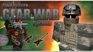 roblox #5 2 player war tycoon including hudrock