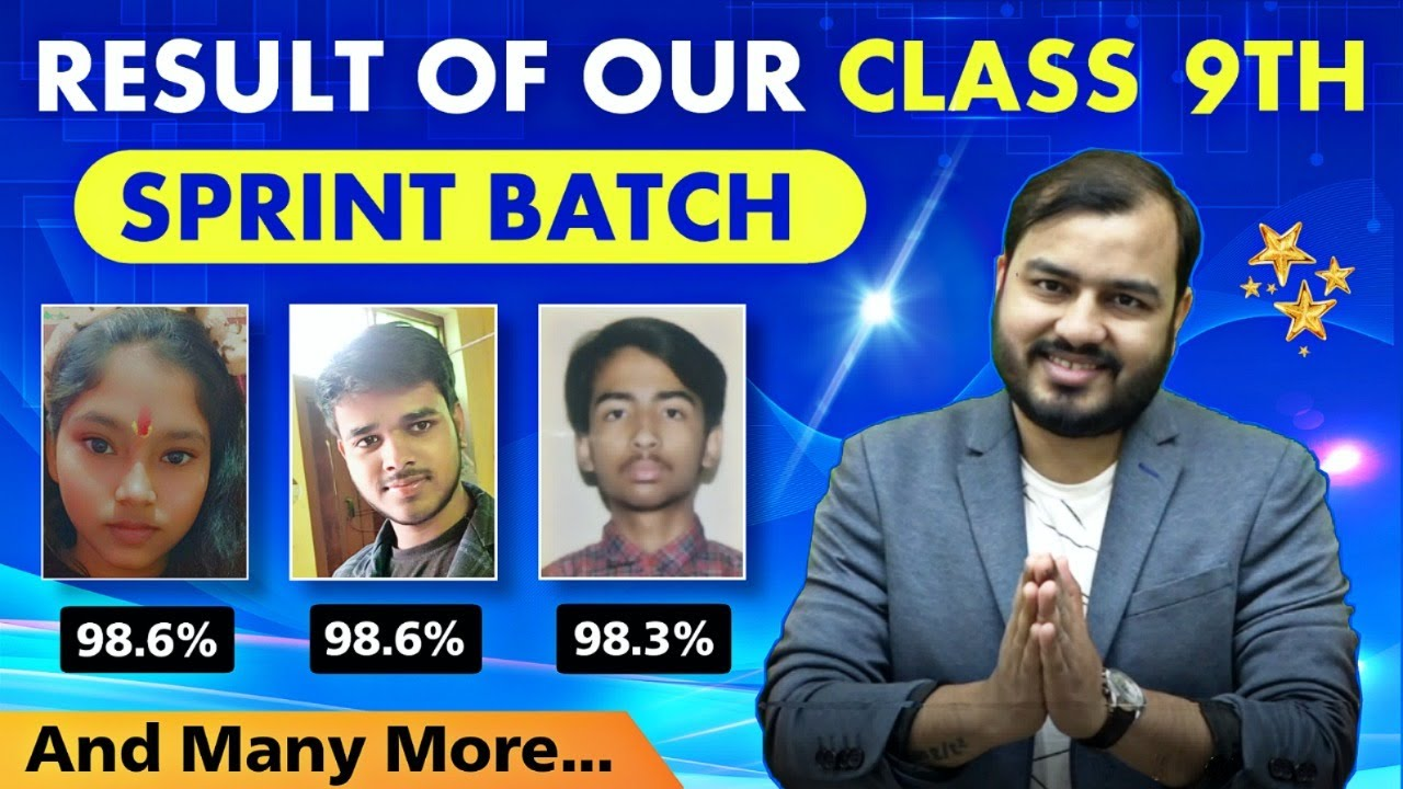 Download Result of Our Class 9th - SPRINT Batch 🔥