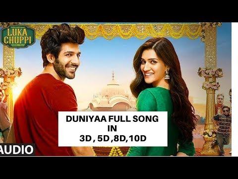 3D/5d/7d/10d Audio / Duniyaa / Luka Chuppi/Akhil | new song duniyaa in 3d
