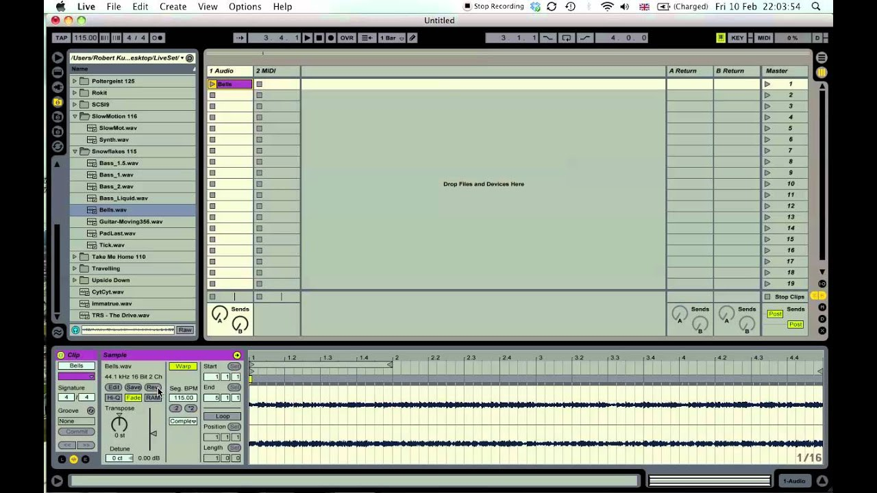 how to cut an audio clip abelton