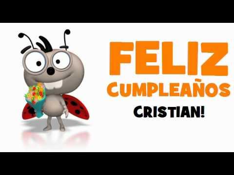 Feliz Cumpleaños Cristian Youtube