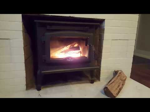 Wood Burning Stove Osburn - 900 Supplied and installed by AtlantaChimneyWorx.com 404-944-6394