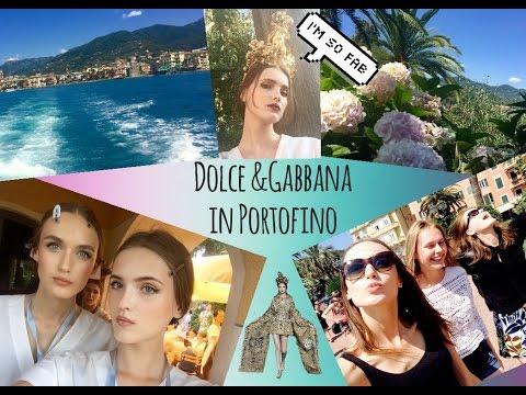 show Dolce&Gabbana Alta moda in Portofino (backstage)