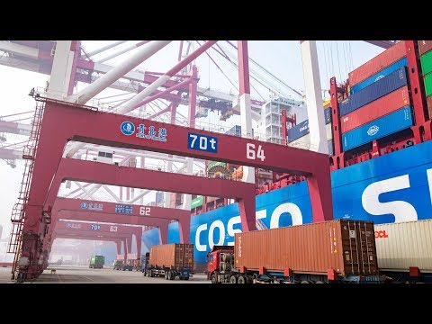 Chinese Annual Import And Export Volumes Hit New Highs