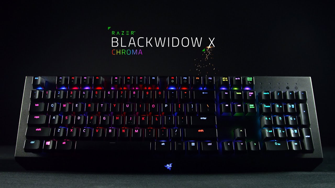 The Razer BlackWidow X Chroma - YouTube