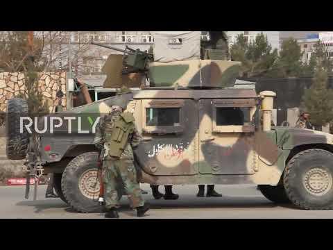 Afghanistan: Gunmen storm intelligence training centre in Kabul