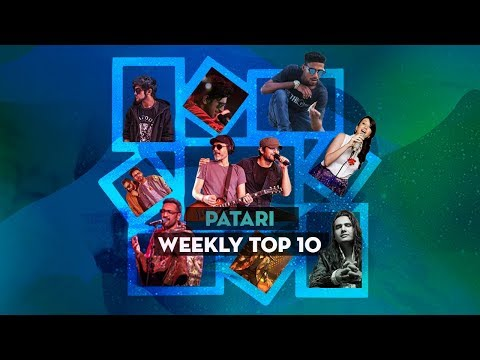 Patari's Weekly Top 10 | Week of Apr 28, 2018 | Most Played Pakistani Songs