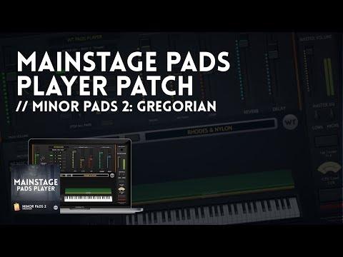 MainStage Pads Player Demo - Minor Pads 2: Gregorian