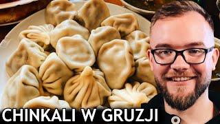CHINKALI - co to jest? Jak jeść gruzińskie pierogi? NAJLEPSZE w TBILISI   GASTRO GRUZJA VLOG #272