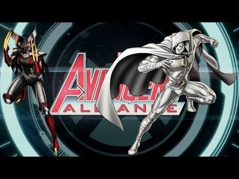Marvel Avengers Alliance LDA team Moon night et X-23 - YouTube X 23 Marvel Avengers Alliance