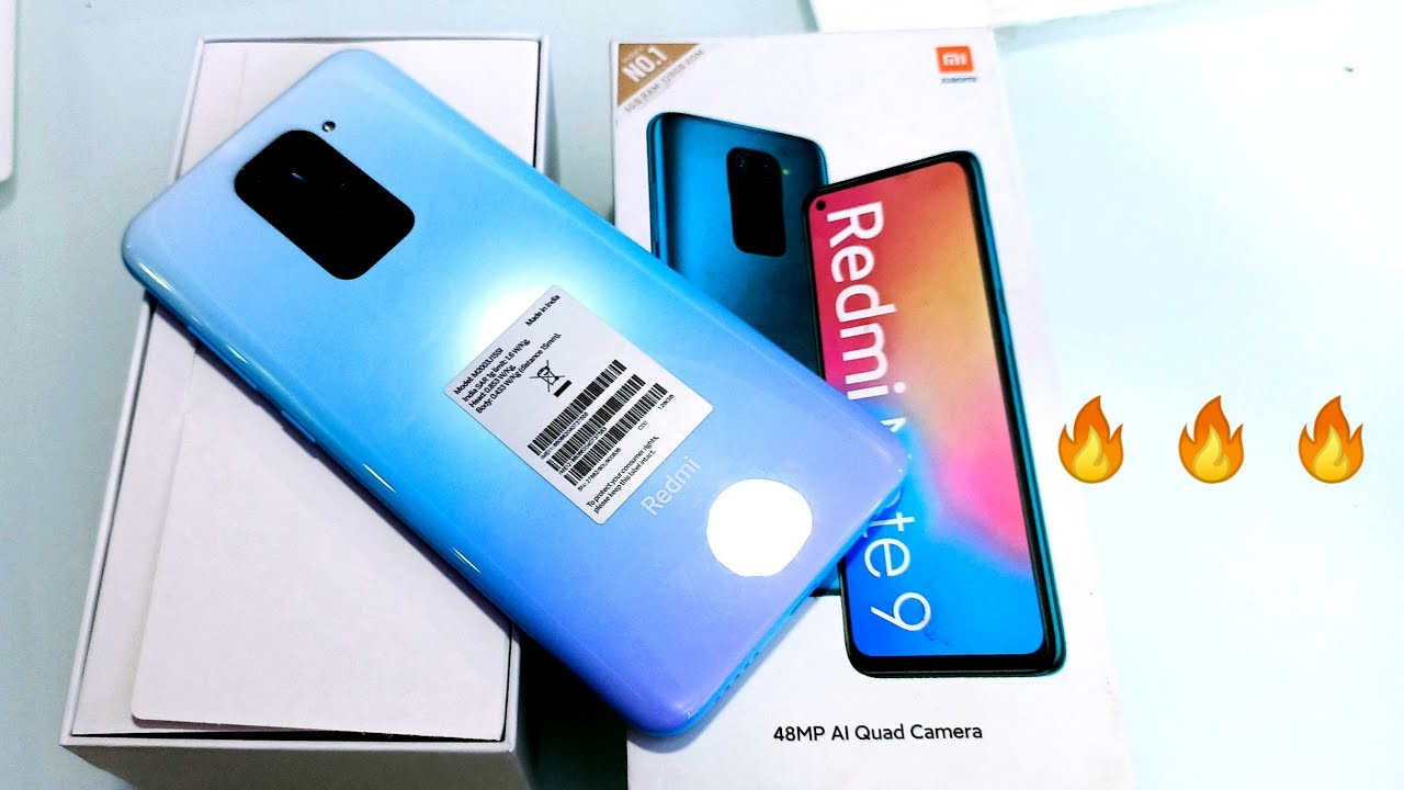 Redmi Note 9 Unboxing, First Look & Review !! REDMI NOTE 9 PRICE , SPECIFICATIONS & MORE  🔥 🔥 🔥