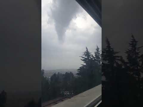 Tornado en Toluca del 19 de Octubre