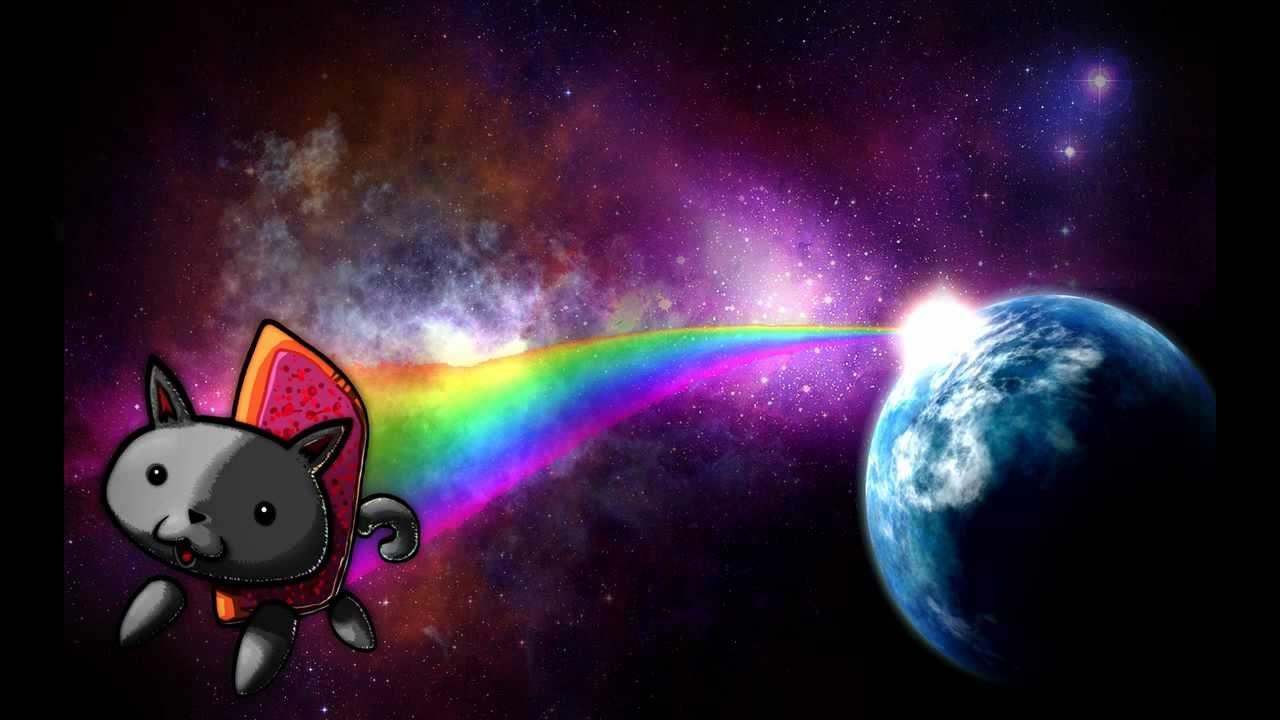 Nyan Cat + Fondo (link En La Descripcion)