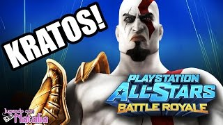 KRATOS CONTRA EL MUNDO! - Playstation All Star Battle Royale