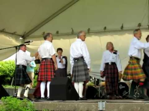Royal Scottish Country Dance Society at Niagara Folk Arts Festival 2012