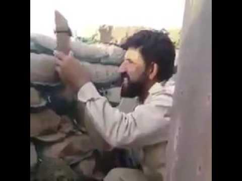 شاهد دقة تصويب قناص الدولة الأسلامية ضد الحشد في الموصل