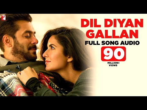 Dil Diyan Gallan  Full Song Audio  Tiger Zinda Hai  Atif Aslam  Vishal and Shekhar