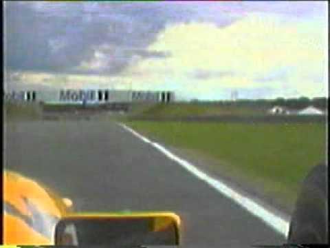 Jyrki Järvilehdon onnettomuus Silverstonessa