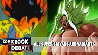 All Super Saiyan Forms and Variations in 17 Minutes (Update) (2017)