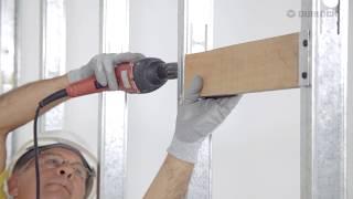 Construcción en seco: Construcción de una pared Durlock®