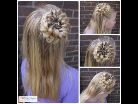 Party Hairstyle 2017 For Young Girls Part 2 Youtube