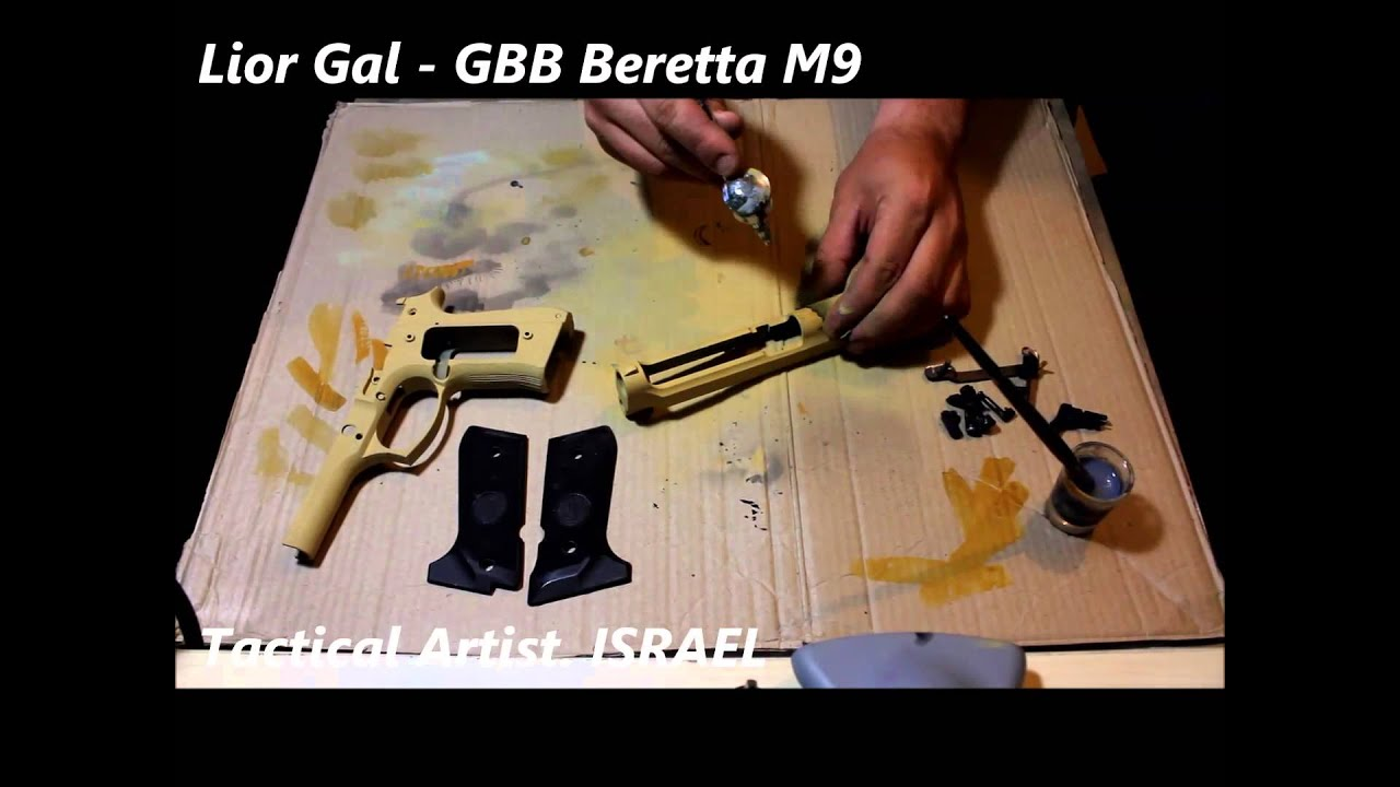 Airsoft Pistol Paint Job