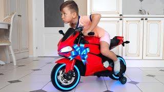Senya and his New Mini SportBike