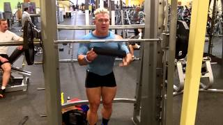 Andy Haman DYMATIZE Giant Sets For Giant Legs!
