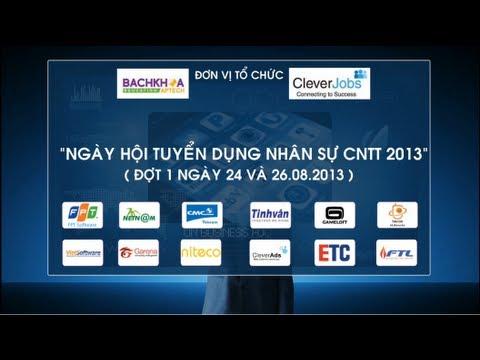 [Bachkhoa-Aptech] Tưng bừng Ngày hội tuyển dụng nhân sự CNTT 2013