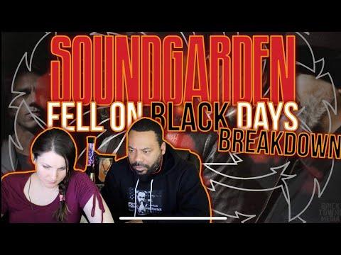 SOUNDGARDEN Fell On Black Days Reaction!!
