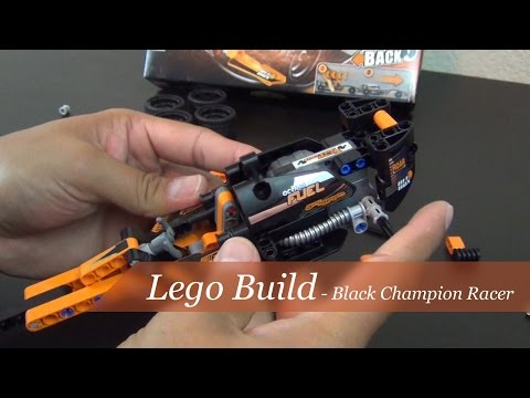 Lego Build - Technic Black Champion Racer Set #42026