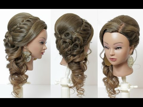 Asian Bridal Hairstyle for Long Hair