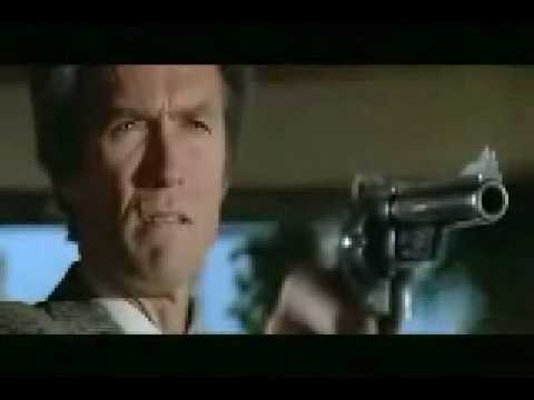 """Go ahead, make my day"" - Dirty Harry"