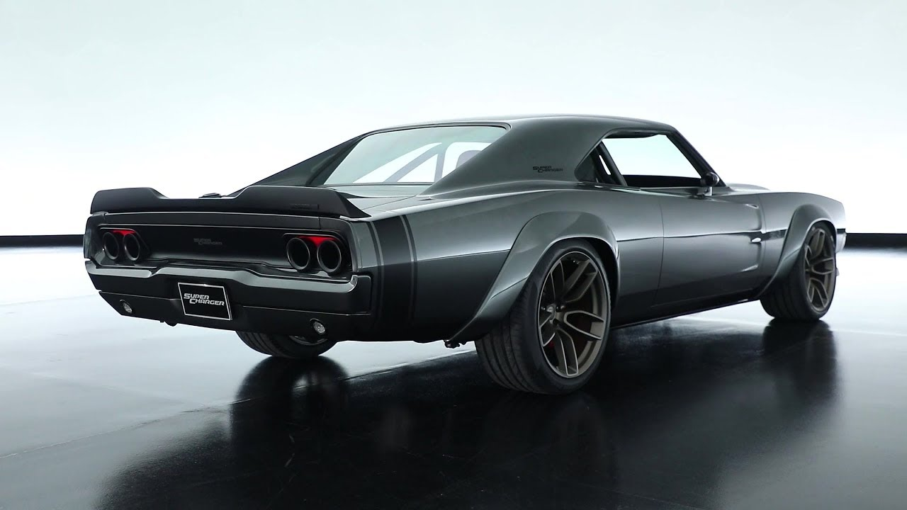 1968 Dodge Super Charger Concept With 1 000 Hp Hellephant 426