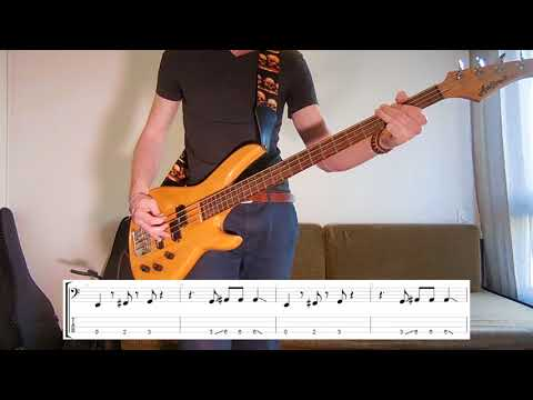 Royal Blood - Lover Bass cover with tabs