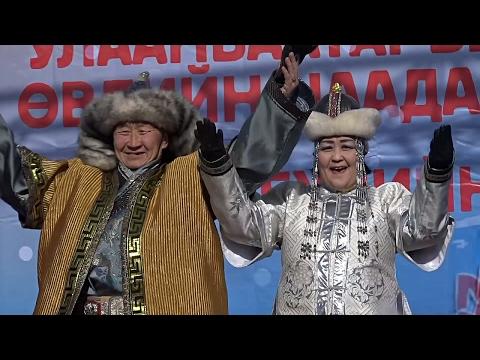 20-градусные морозы не помешали фестивалю зимы в Улан-Баторе (новости)