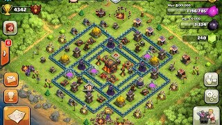 Clash of clans Photoshop - Making my base look like the #1 player in the world! Sped up