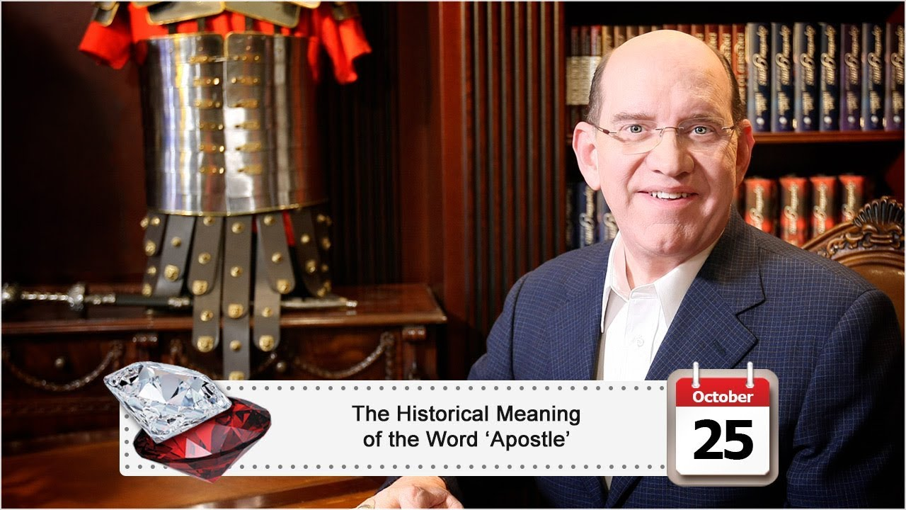 The Historical Meaning of the Word 'Apostle' | Rick Renner
