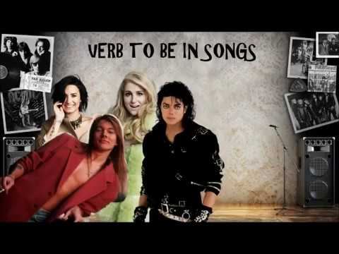 Verb to be in songs
