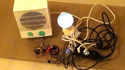 Free Energy Generator 220V for light bulb and heater |  | WasabySajado
